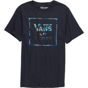 Vans Logo Box Fill T-Shirt - Boys'