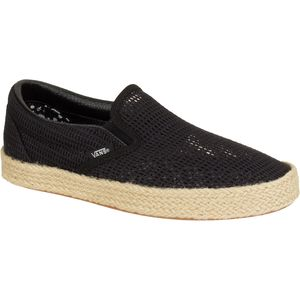 Vans Classic Slip-On Espadrille Shoe - Women's