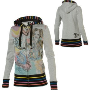Vans Kime Buzzelli Full-Zip Hooded Sweatshirt - Womens