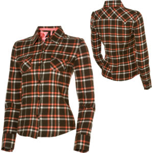 Vans YD Button-Up Flannel Shirt - Long-Sleeve - Womens