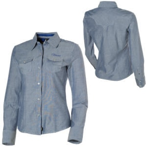 Vans YD Chambray Button-Up Shirt - Long-Sleeve - Womens