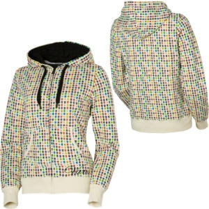 Vans Sprinkle Skull Full-Zip Hooded Sweatshirt - Womens
