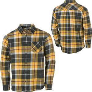 Vans Clockout Flannel Shirt - Long-Sleeve - Mens