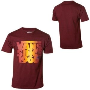 Vans Stacked Since 66 T-Shirt -Short-Sleeve - Mens
