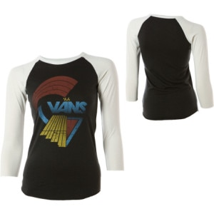 Vans Sweatin For Vans Baseball T-Shirt - 3/4 Sleeve - Womens
