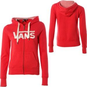 Vans Original Full-Zip Hooded Sweatshirt - Womens