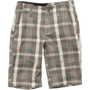 Volcom Faceted Plaid Short - Boys'