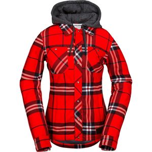Volcom Circle Flannel Jacket - Women's