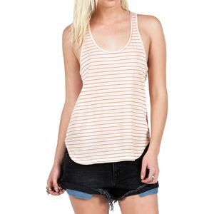 Volcom Lived In Stripe Racer Tank Top - Women's
