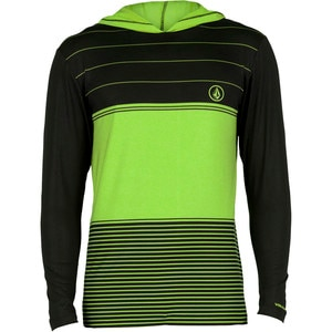 Volcom Sub Stripe Hooded Rashguard - Long-Sleeve - Men's