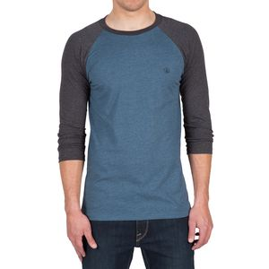 Volcom Heather Staple Raglan T-Shirt - 3/4-Sleeve - Men's