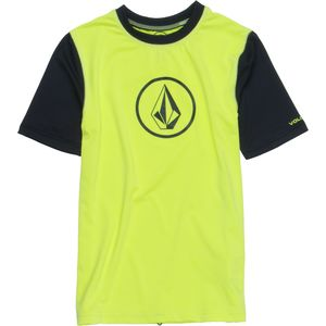 Volcom Heather Rashguard - Short-Sleeve - Boys'