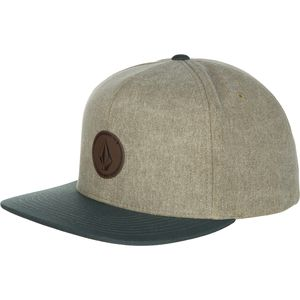 Volcom Quarter Fabric Snapback Hat