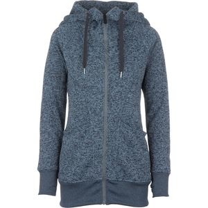 Volcom Bay Sweater Fleece Full-Zip Hoodie - Women's