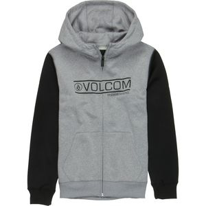 Volcom Raptor Fleece Full-Zip Hoodie - Boys'