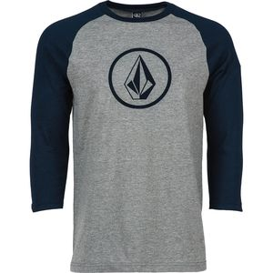Volcom New Circle Raglan T-Shirt - 3/4-Sleeve - Men's