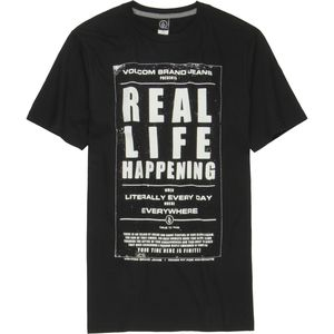 Volcom Real Life T-Shirt - Short-Sleeve - Men's