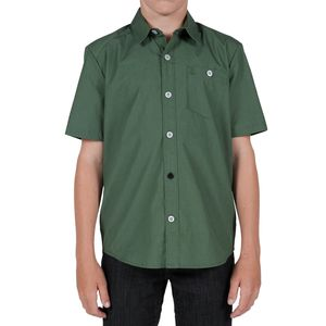 Volcom Everett Solid Shirt - Short-Sleeve - Boys'