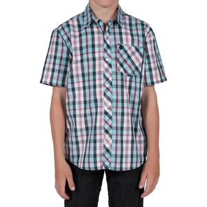 Volcom Xander Plaid Shirt - Short-Sleeve - Boys'