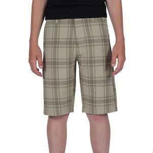 Volcom Frickin Static Plaid Short - Boys'