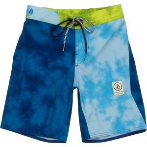Volcom Party Pack Wash Elastic Waist Board Short - Boys'