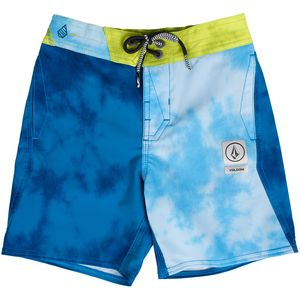 Volcom Party Pack Wash Elastic Waist Board Short - Little Boys'