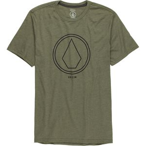 Volcom Pin Line Stone Slim T-Shirt - Men's