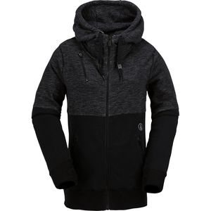 Volcom Flynn Fleece Full-Zip Sweatshirt - Women's