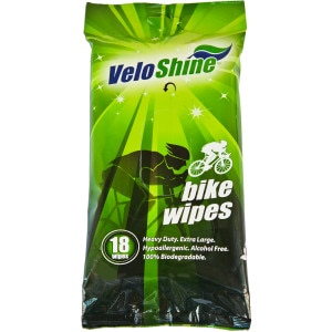 VeloShine Wipes - 18-Pack