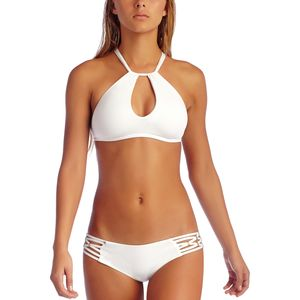 Vitamin A Amber High Neck Bikini Top - Women's