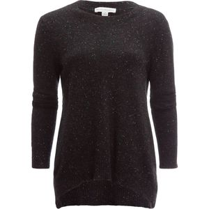 White + Warren Cashmere Hi Lo Crewneck Sweater - Women's