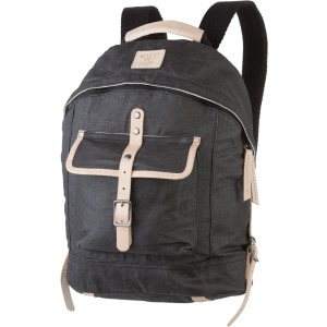 Will Leather Goods Wax Coated Canvas Dome Backpack