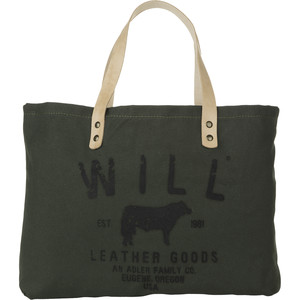 Will Leather Goods Small Classic Carry All Tote