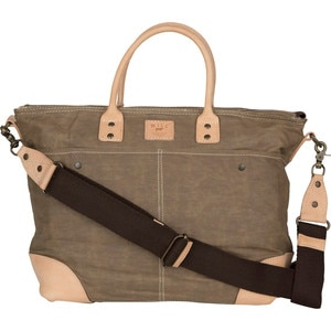 Will Leather Goods Wax-Coated Canvas Tote