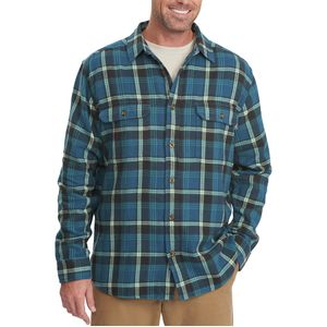 Woolrich Oxbow Bend Regular Fit Flannel Shirt - Long-Sleeve - Men's