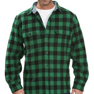 Woolrich Wool Buffalo Regular Fit Shirt - Long-Sleeve - Men's