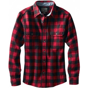 Woolrich Wool Buffalo Flannel Shirt - Long-Sleeve - Men's