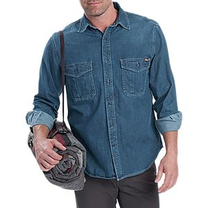 Woolrich Hemlock Denim Shirt - Long-Sleeve - Men's