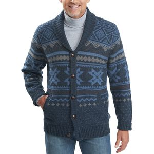 Woolrich Ultra-Line Fair Isle Cardigan - Men's