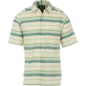 Woolrich Lost Lake Modern Chambray Stripe Shirt - Short-Sleeve - Men's