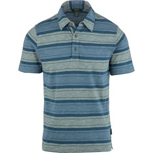 Woolrich Between The Lines II Stripe Polo Shirt - Men's