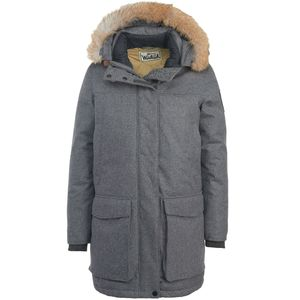 Woolrich Wool Face Patrol Down Parka - Men's