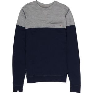 We Norwegians BaseTwo ColorBlock Crew Sweatshirt - Men's