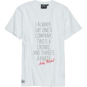 WeSC Warhol Quote T-Shirt - Short-Sleeve - Men's