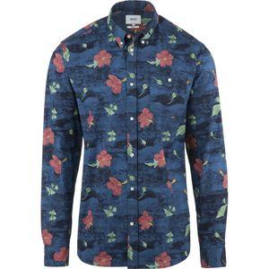 WeSC Concrete Flower Shirt - Long-Sleeve - Men's