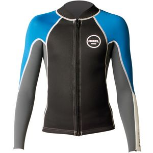 XCEL Hawaii 2/1 Axis Front-Zip Wetsuit Jacket  - Kids'