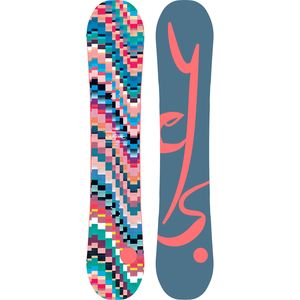 Yes. Emoticon Snowboard - Women's