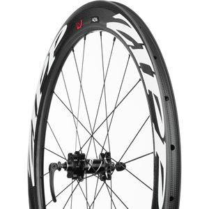 Zipp 404 Firecrest Carbon Disc Brake Road Wheel - Clincher