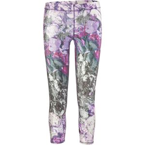 Terez Purple Crushed Makeup Capri Tight - Women's