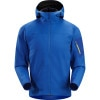 Arcteryx Epsilon SV Hooded Fleece Jacket - Mens Summit Sky, M - breathable,water resistant,mid layer,ski jacket